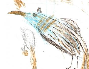 Vaga linnuke
